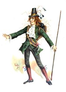 Barnaby Rudge by Joseph Clayton Clarke (Kyd, 1856-1937)