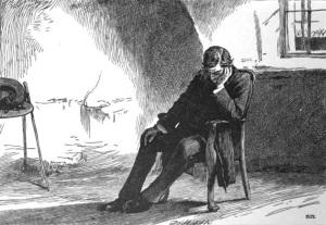 434 Aurthur Clennam in the Marshalsea Gaol